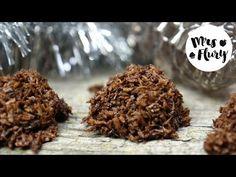 vegane Kokosmakronen Ober Und Unterhitze, How To Dry Basil, Herbs, Snacks, Cookies, Sweet, Food, Youtube, Vegan Baking