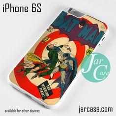 Comic Cover Batman The winning team Phone case for iPhone 6/6S/6 Plus/6S plus
