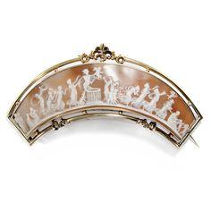 Verkauf der Liebesgötter: Diadem in Muschelgemme & Gold, um 1840 / Tiara Cameo | eBay