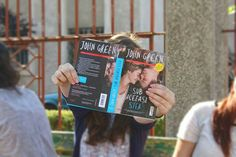 #the fault in our stars #school #canon #friends #blue #john green