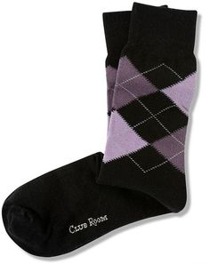 Club Room Men's Socks, Fashion Argyle Single Sock new 1 pair no tags