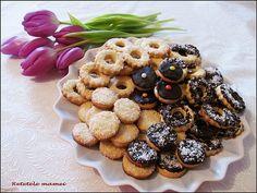 Fursecuri cu vanilie și ciocolată Cereal, Cookies, Breakfast, Desserts, Crack Crackers, Morning Coffee, Tailgate Desserts, Deserts, Biscuits