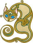 celtic cat.