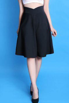 Chân váy lưng V vintage-A1571 Giá: 190.000đ