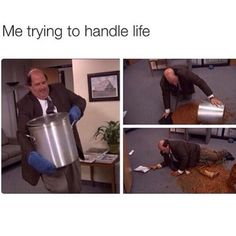 Kevin is my spirit animal. The office