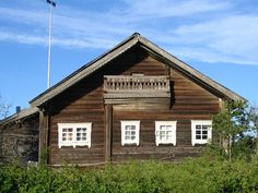 Karelian house, Finland