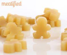 Green Tea, Lemon & Ginger Gummies from http://meatified.com #paleo #aip #gelatin