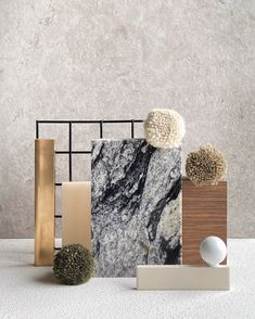 Material palette created by Tom Mark Henry for the launch of the Custom Colour Collection by Armadillo & Co. Interior Exterior, Interior Design, Mark Henry, Mood Board Interior, Material Board, Custom Rugs, Texture, Colour Schemes, Mood Boards