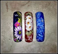 Zhostovo Nail Art Step By Step 73