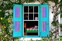 Storefront Window taken at Grande Case Beach on St. Maarten / St. Martin. Source: WisDoc