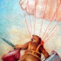 Hay un oso en el cuarto oscuro, de Helen Cooper, leído en Filosofía a la de tres, sesión número cuatro: http://filosofiaaladetres.blogspot.com.es/2013/01/sesion-numero-cuatro-15-de-enero-2013.html