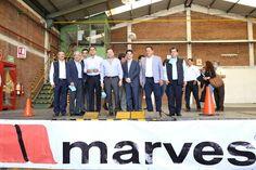 El gobernador de Michoacán y el titular de la SE, Ildefonso Guajardo, se reunieron con empresarios uruapenses; realizaron un recorrido a Industrias Marves ya la Fábrica de Chocolates Moctezuma – ...