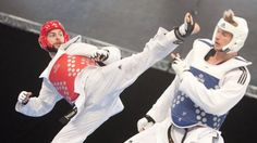Former kick-boxing world champion Damon Sansum believes he is now ready to dominate taekwondo events, three years after switching sports.