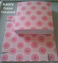 ++Easel Drawer Box & Card tutorial ++