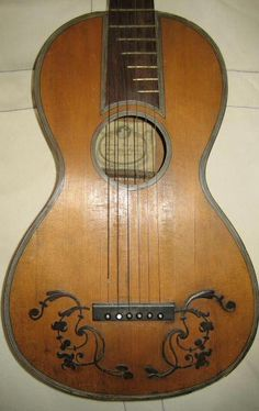 Romantic Guitar by Fabricatore 1819