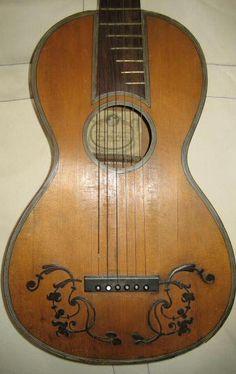 Romantic Guitar by Fabricatore 1819