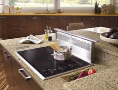 kitchen island with cooktop and oven | Any Way You Cook It: What's new with stoves and ovens