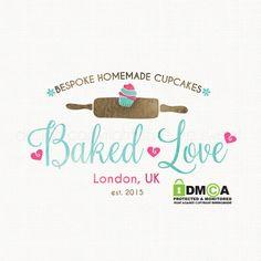 bakery logo design cupcake logo design by stylemesweetdesign