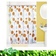 #Cortinas de ducha impermeables con diseño impreso y ojales de metal en la parte superior #hogar #tiendalagloria #baño 4to Piso