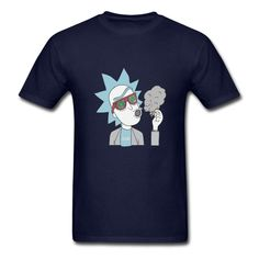 25d568258 Anime cool pop Mens T Shirts Rick and Morty 420 Print Male Men T Shirts  Online Shopping O Neck boys Short Sleeve T Shirts-in T-Shirts from Men's  Clothing ...