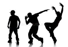Sequence of Hip Hop Dancer. Silhouette of sequence of hip hop dancer over a whit , Jazz Dance, Hip Hop Dance, Dance Art, Dance Class, Ballroom Dance, Baile Hip Hop, Photo Sequence, Image Sequence, Dancer Drawing
