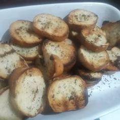 Tostadas saborizadas Receta de martalhanna - Cookpad Tapas, Baked Potato, Potatoes, Lunch, Baking, Vegetables, Ethnic Recipes, Food, Tostada Recipes