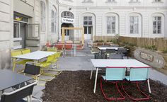 Thonet Pop-up café, Vienna, Austria 2016 | Wallpaper*
