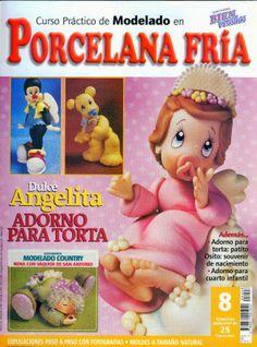 Revistas de manualidades Gratis: Como hacer un angel en porcelana fria