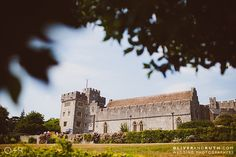 Summer weddings at St Donat's Castle