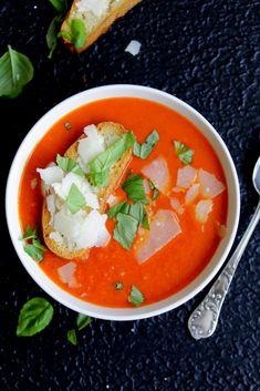 Tomatensuppe Brigitte tomatensuppe für stoffwechselkur hcg low carb rezept