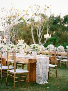 Stylish White Wedding in Bali