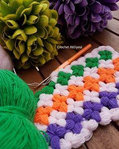 Baby Knitting Patterns, Crochet Stitches, Blanket, Handmade, Alain Delon, Free Crochet, Basic Crochet Stitches, Flower Fabric, Made By Hands