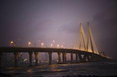 Bandra-Worli Sea Link, Mumbai.