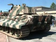 WATCH: Königstiger Engine Start and Throttle up - WW2 King Tiger Accelation - https://www.warhistoryonline.com/whotube-2/watch-konigstiger-engine-start-and-throttle-up-ww2-king-tiger-accelation.html