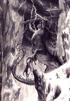 Chaos Dragon Ogre Shaggoth