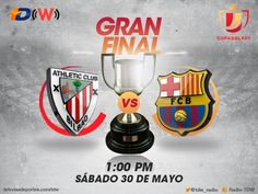 Barcelona vs Athletic, Final de la Copa del Rey 2015 ¡En vivo! - http://webadictos.com/2015/05/30/barcelona-vs-athletic-final-copa-del-rey/?utm_source=PN&utm_medium=Pinterest&utm_campaign=PN%2Bposts