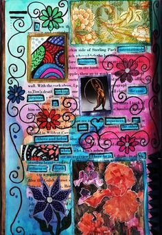 Mixed Media Collage/Book art