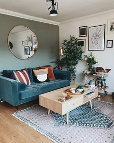 Home Living Room, Living Room Designs, Living Room Decor, Bedroom Decor, Living Room Ideas, London Living Room, Teal Living Rooms, Decorating Bedrooms, Living Room Inspiration
