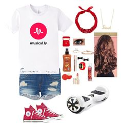 """Go Follow Me on Musical.ly: k_kat"" by kalliekat456 ❤ liked on Polyvore featuring rag & bone, Hawaiian Tropic, Eos, Stila, Alexa Starr, Marc by Marc Jacobs, Hoorsenbuhs, Converse and Sydney Evan"