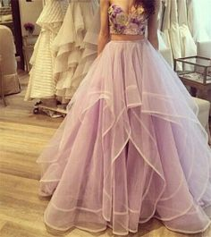 Princess Skirts High Waist Tiered Tulle Tutu Long Skirts Women Young Ladies Wear Floor Length Organza Homecoming Dresses Causal Clothes From Click_me, $45.03 | Dhgate.Com