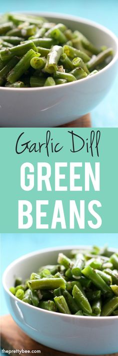 Garlic and dil lmake these green beans extra flavorful. Fresh or frozen green beans work well in this recipe.