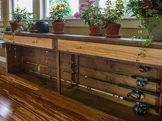 Jason Cameron's Custom Fishing Pole Storage