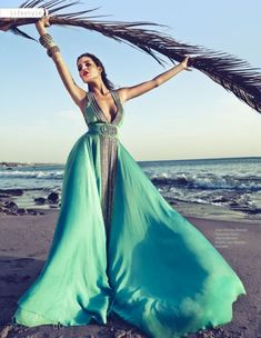 turquoise and the ocean breeze