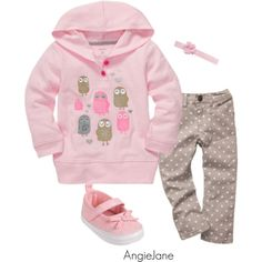 Sweet baby girl's outfit - #kidsfashion