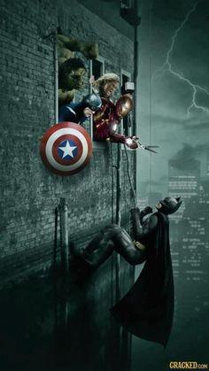 The Avengers vs Batman ... Avengers