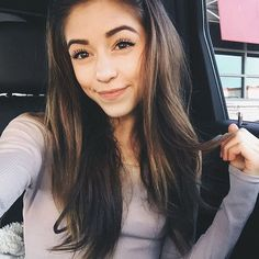 """{ Thalia Bree } """"hi! I'm Thalia Caniff. I'm 17. I'm a model. I love Snapchat. I love goofing off with my family and with my dog, Sandy. I have 5 siblings and 3 cousins. Intro?"""""""