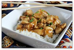 This is thee best Asian Orange Chicken you will ever taste; tossed in a deliciously sweet, tangy and flavorful sauce. Bakerette.com