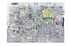 Mark Bradford, The World is Flat (2007): Christie's May'13 [$2.405MM]