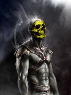 Skeletor by ~Madec-Brice, let him win... Just once.