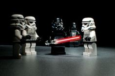 Lego Star Wars - Darth Vader with The Stormtroopers